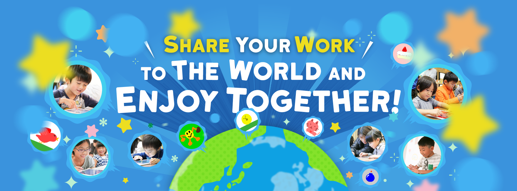 Share your Work with everyone and Let's make the world more fun!